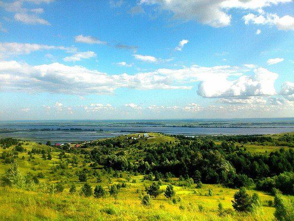 Russia. Kama river