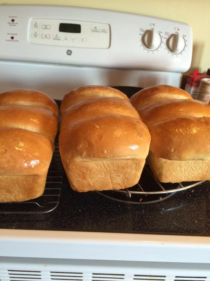 NOTHING BEATS HOMEMADE FRESH BREAD RIGHT OUTTA THE OVEN