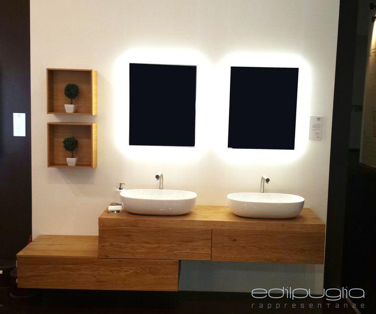 Oltre 25 fantastiche idee su specchi bagno su pinterest carta da parati bagno toletta grigia - Specchi retroilluminati per bagno ...