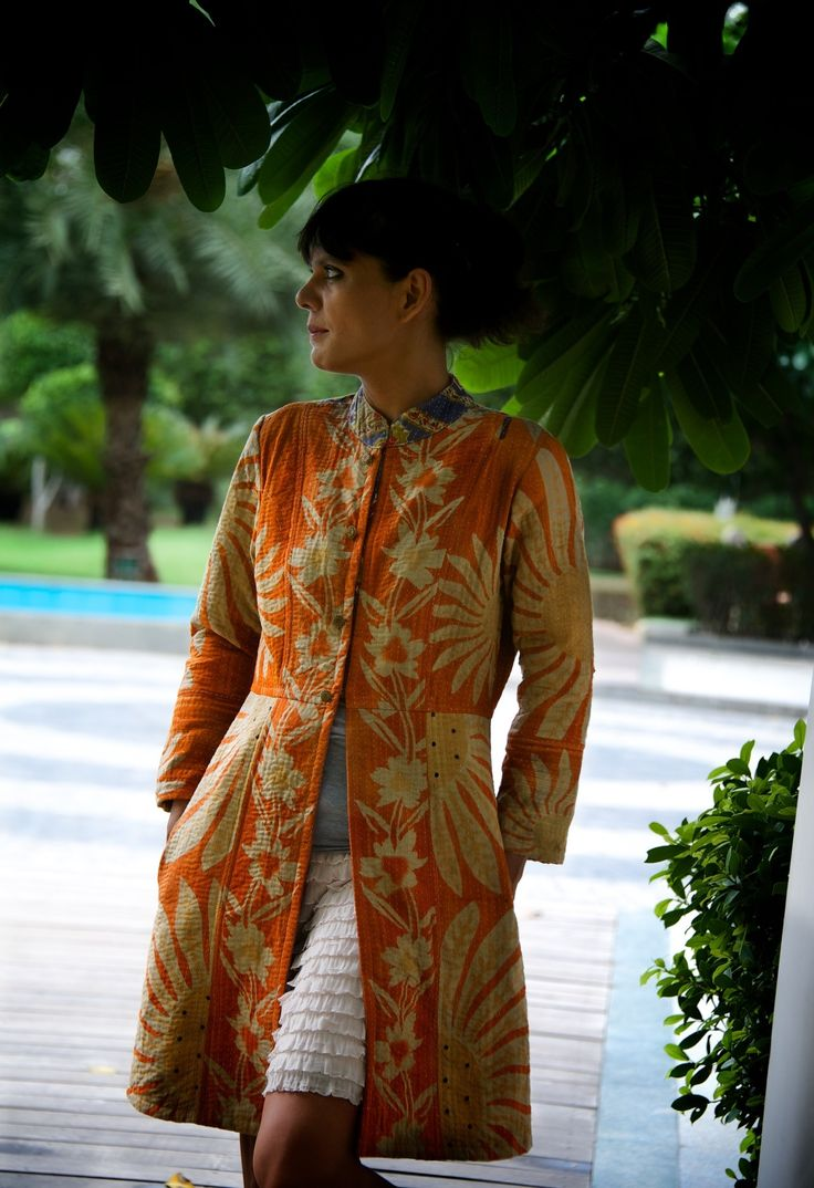 Handmade Contemporary Bohemian Long Jackets for Women, Online India, Women Jackets, Womens Fashion Online India