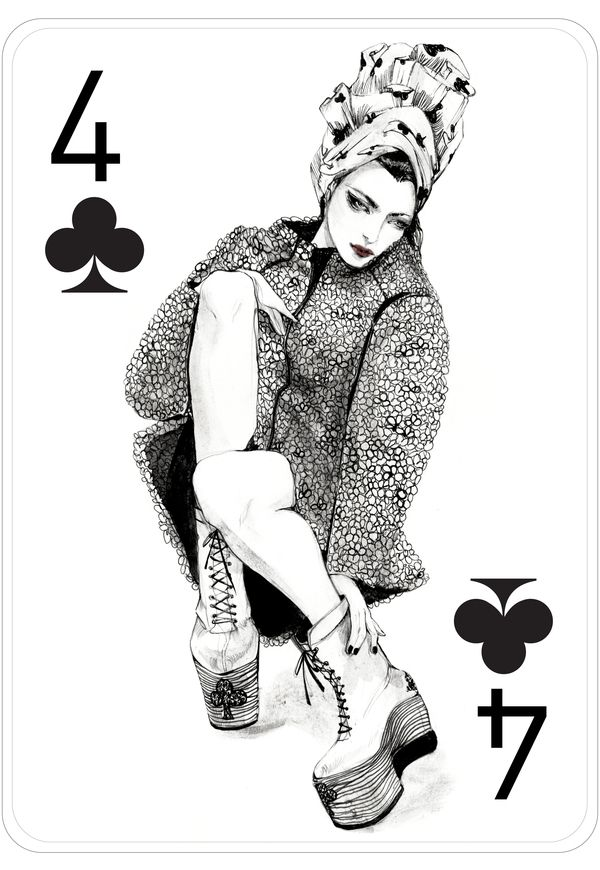 gorgeous playing cards