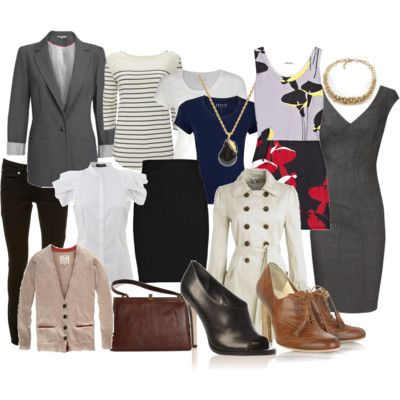 City Girl Style: Ten work wardrobe essentials for stylish professionals... maybe I should look at this....soonish