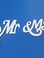 """Mr & Ms"" Flower Girl Banner/Photo Booth Props – USD $ 14.99"