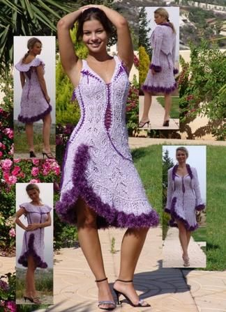 Knitted dress from Zoya Woolwitch