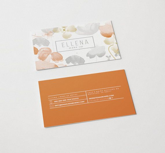 48 best cards images on pinterest graphics double sided business ellena double sided business card instant by deideigraphic colourmoves