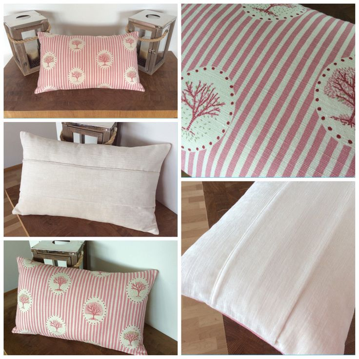 Newly listed, Vanessa Arbuthnott Four Seasons cushion cover in Sea Pink & Olive. Xxx