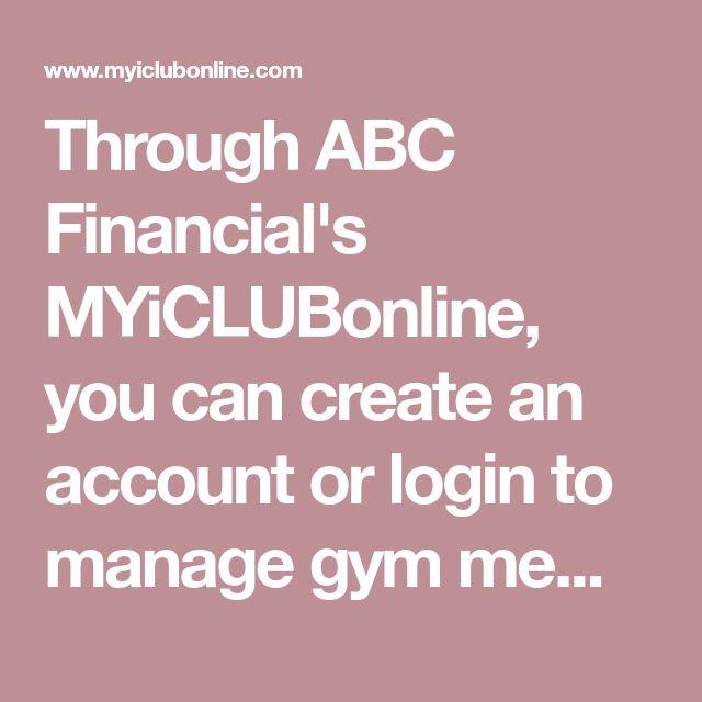 Through ABC Financial's you can create an