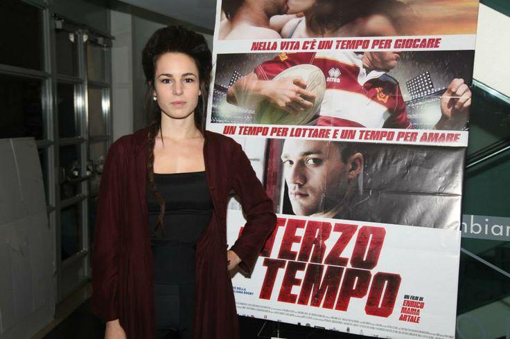 Margherita Laterza alla prima del film