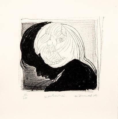 Marlene Dumas  Incubatie 2011-08 / SW / 11.200 ZAR