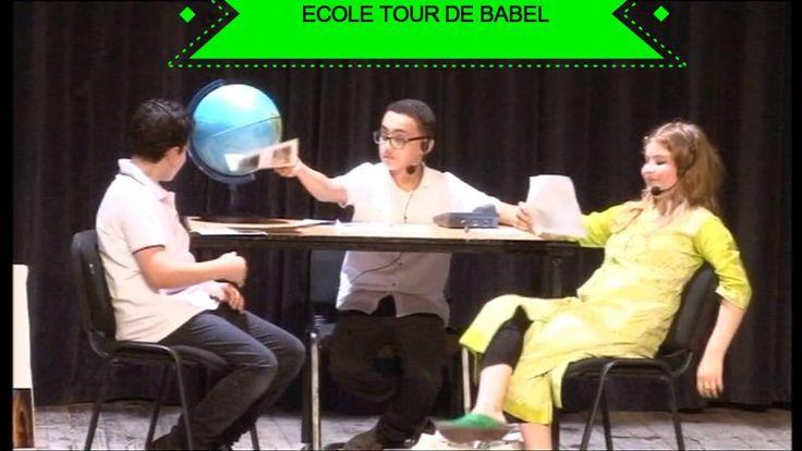 Ecole Tour de Babel Tanger - Pièce de théâtre : le voyagiste