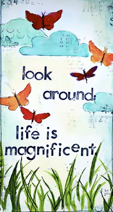 life is magnificent!