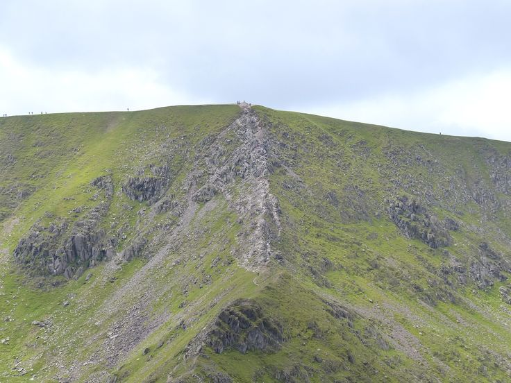 Swirral Edge Lake District