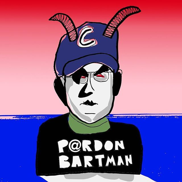 Free Bartman. #cubs #worldseries #chicagocubs #baseball #curse #art #illustration #editorial #color #instaartist #thecopilot