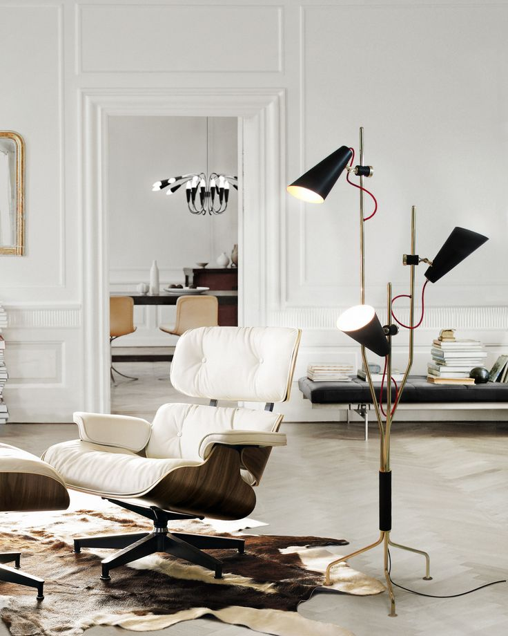 10 Suitable Floor Lamps to your Home Design Ideas | Visit www.homedesignideas.eu for more inspiring images