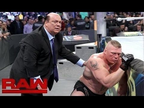 WWE Raw 2 January 2017 Highlights Brock Lesnar vs Goldberg   wwe monday ...