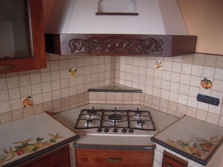 Oltre 25 fantastiche idee su cucine rustiche moderne su - Cucine ad angolo in muratura ...