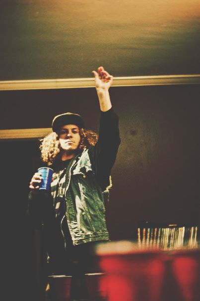 and we party. blake anderson