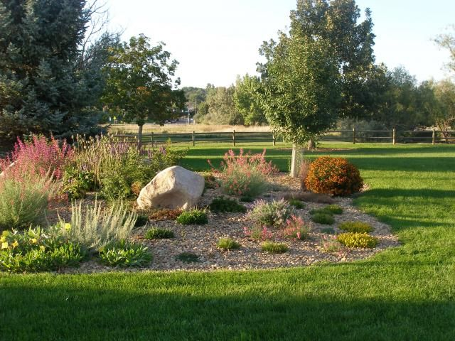 Berm landscape for the home pinterest ornamental for Landscape berm design