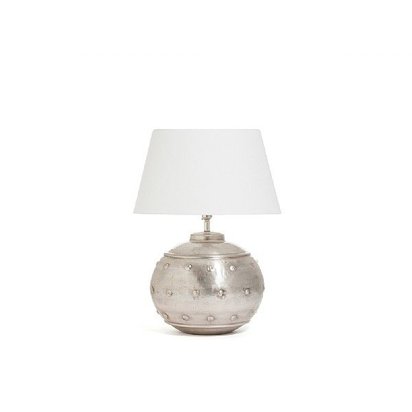 Our dot table lamp is handmade by artisans in india