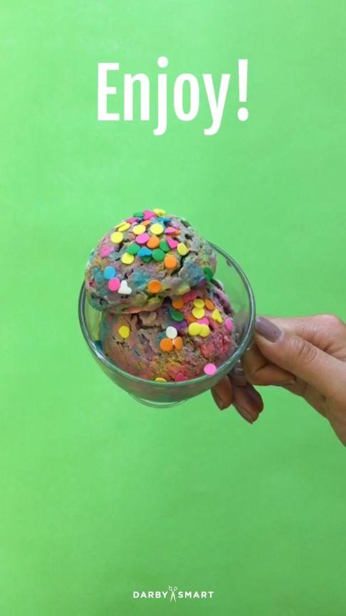 How to Make Magical Unicorn Ice Cream