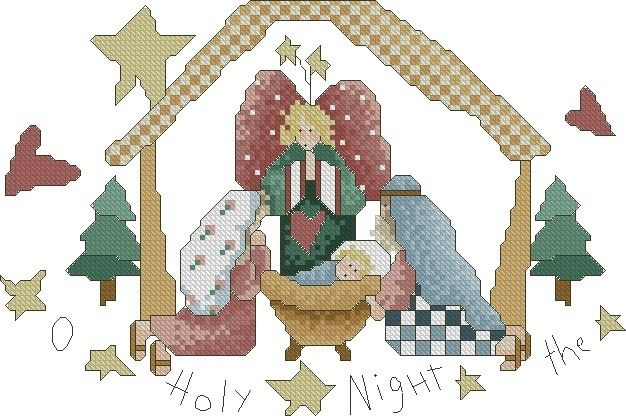 Design Size:5 7/8inches x8 7/8 inches    Design stitches out in 14 Count    Formats Included: HUS, PES, JEF,and VP3    Design Only - No Pattern    Artwork by Alma Lynne