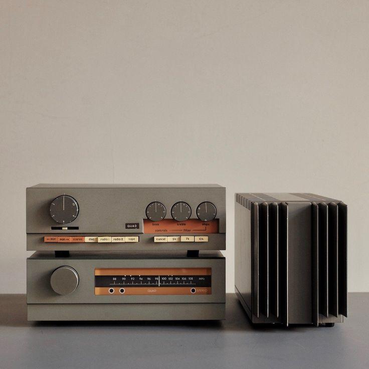 Vintage Quad hi-fi