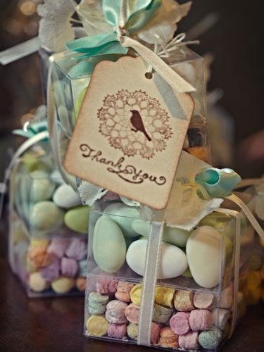 Classic Italian Tradition...Sugared Almond Wedding Favors.