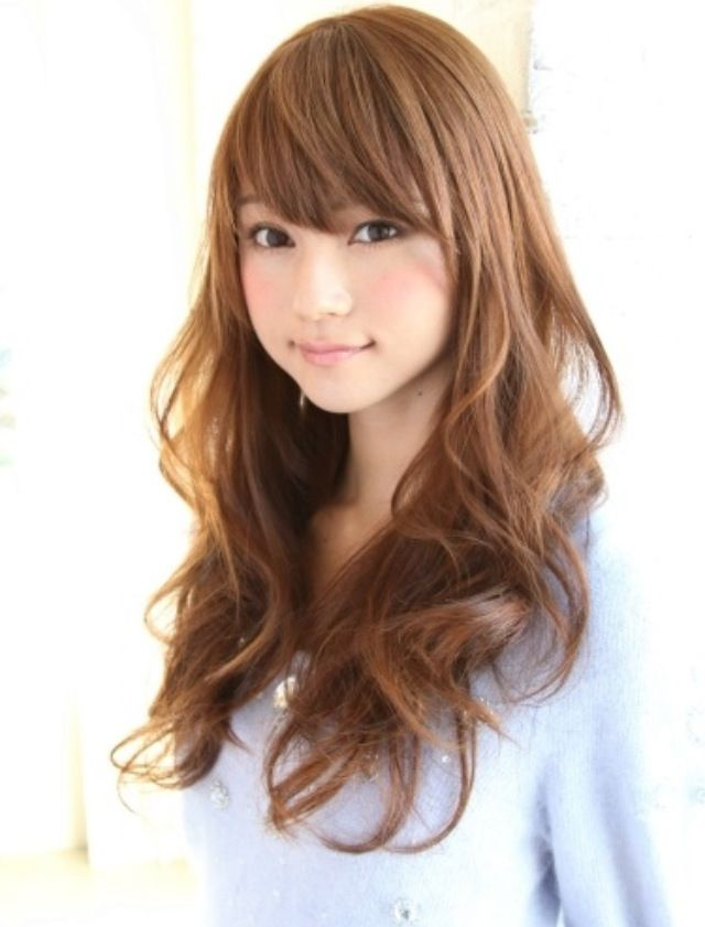 Asian Wavy Hairstyles For Long Hair : 20 best hair cut images on pinterest