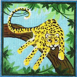 Handprint Leopard