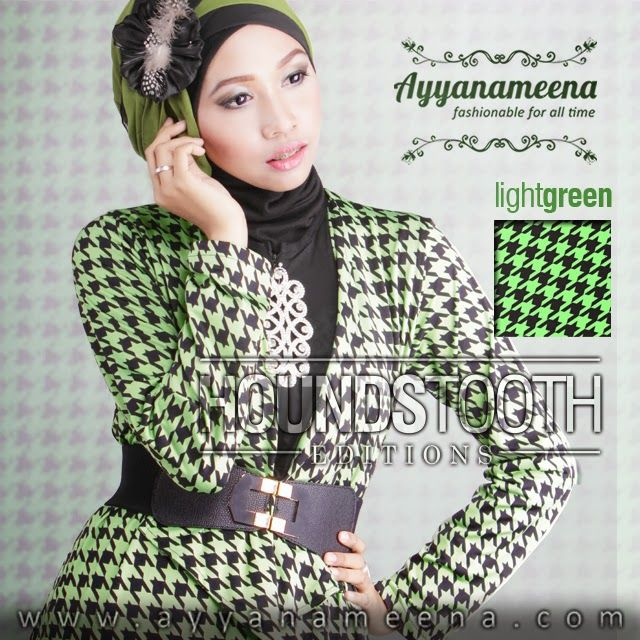 ✿ HOUNDSTOOTH EDITION ✿ By Ayyanameena IDR 260,000