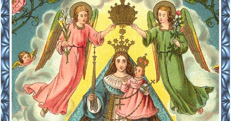 Bendita María, gloriosa Madre y Soberana nuestra,    luz suave que llenas de paz el mundo   y eres alegría y Consuelo de los Aflig...