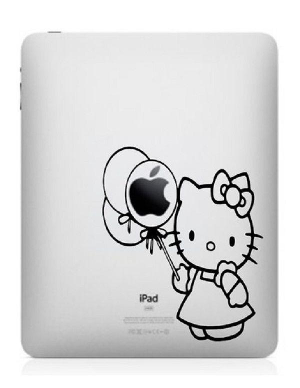 hello kitty ipad stickers: hello kitty ipad stickers