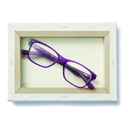 No better accent to that purple outfit than a pair of VO2787 | #PopColors @ http://vogu.ee/1iHGPmX