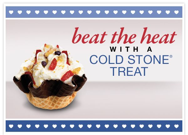 Cold Stone Creamery Coupon: Buy One Creation, Get One Free http://www.samplestuff.com/2012/08/cold-stone-creamery-coupon-buy-one-creation-get-one-free/