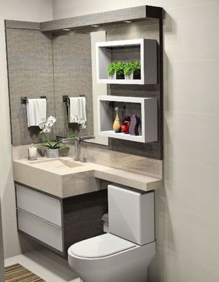 20 elegant and simple bathroom designs for small spaces - Simple bathroom designs for small spaces ...
