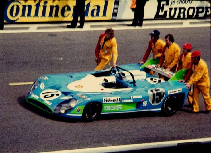 1972 Le Mans WINNER Graham Hill / Henri Pescarolo