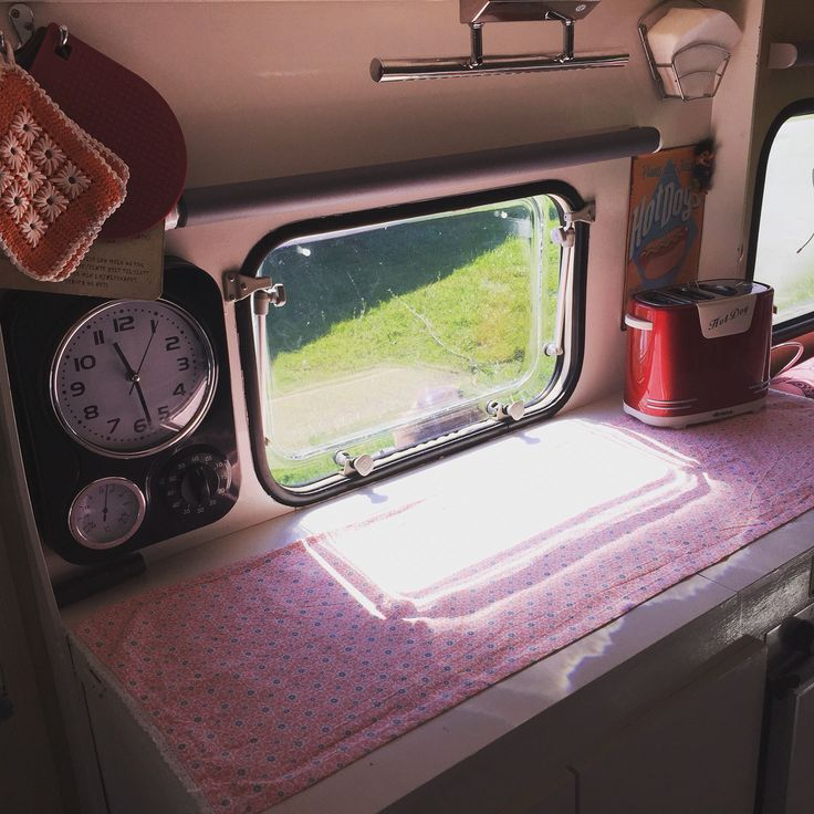 Knaus caravan 1978 retro glamper interior travel trailer diy