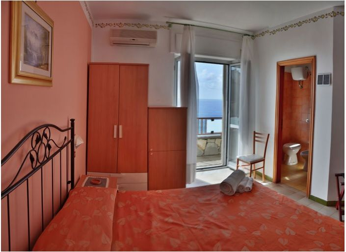 Frontal Seaview Room - Hotel Calanca - Marina di Camerota - Italy