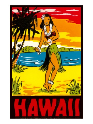 Hawaii, Hula Girl