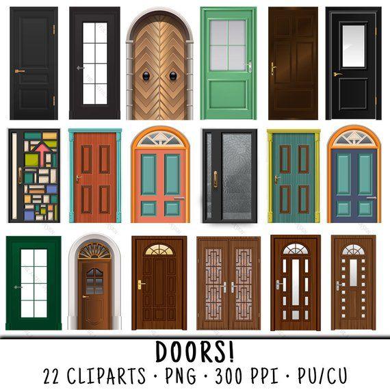 Door Clipart Wood Door Clipart Door Clip Art Wood Door Clip Art Wood Door Png Png Wood Door Cl Door Design Exterior Door Colors Gorgeous Doors