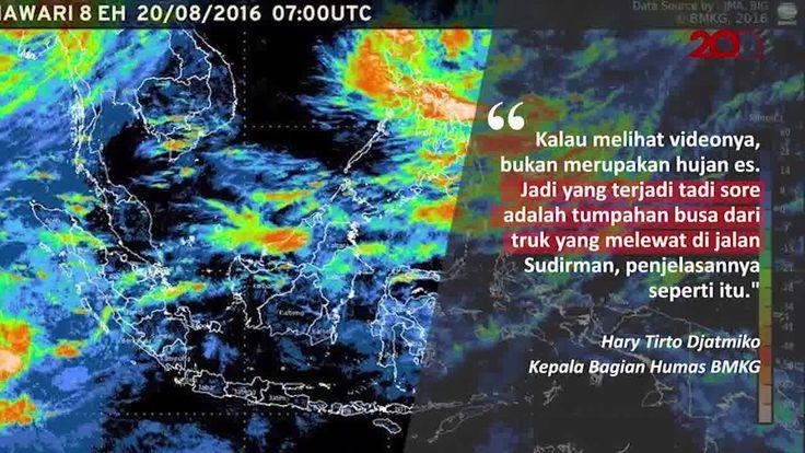 Jakarta sempat dihebohkan oleh video dan foto benda yang mirip salju di jalan raya. Benarkan salju turun di Jakarta? Temukan faktanya di sini: http://detik.id/6YKedz  Via: 20detik