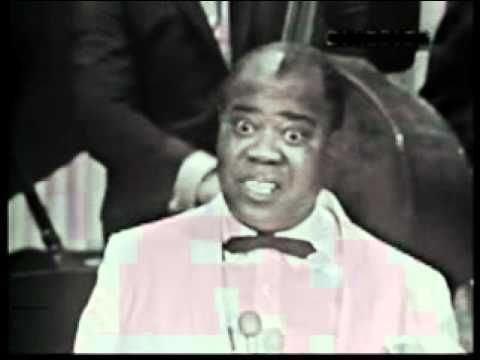 """Louis Armstrong sings """"Mack the Knife"""" - YouTube-Always loved him, seemed to be so sweet!"""