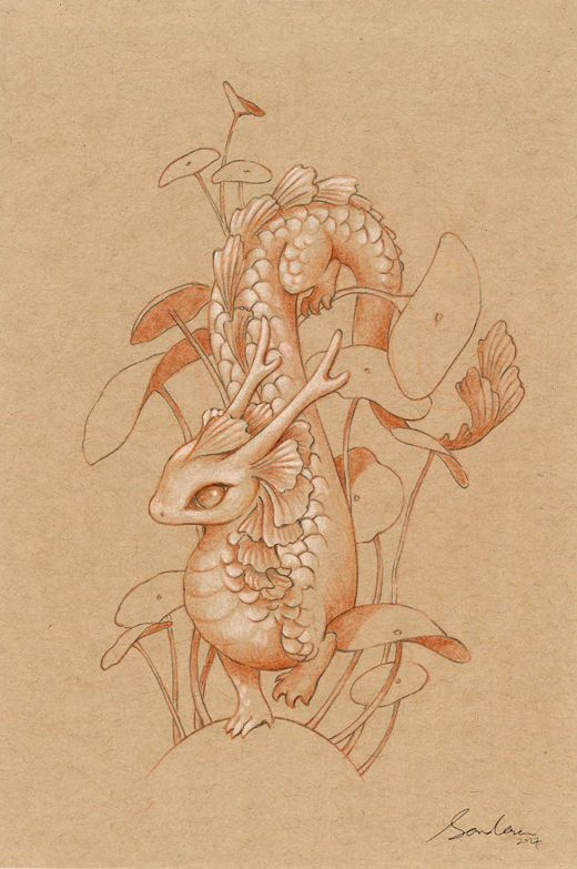 Paper Dragon 2 by sandara.deviantart.com on @DeviantArt