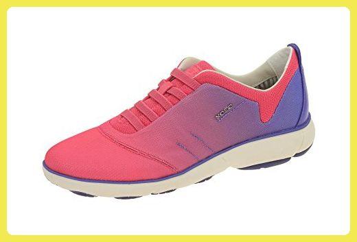 Geox Damenschuhe - sportliche Slipper NEBULA D621EF 00011 C8002 Pink, EU 39 - Slipper und mokassins für frauen (*Partner-Link)
