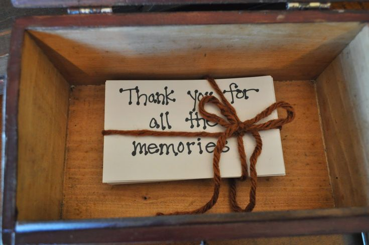 80th Birthday gift idea - simple and sentimental!