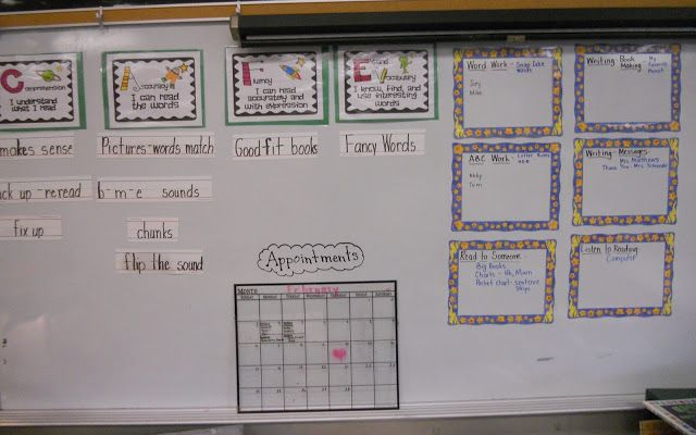 The Daily Cupcake....a Kindergarten Blog: Updating My Cafe / Daily 5 Boards