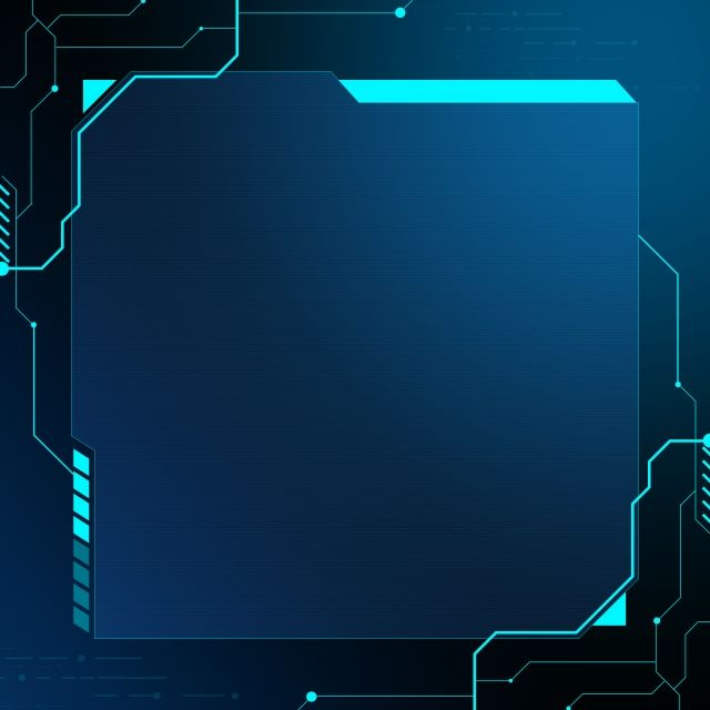 Blue Technology Electronic Circuit Background