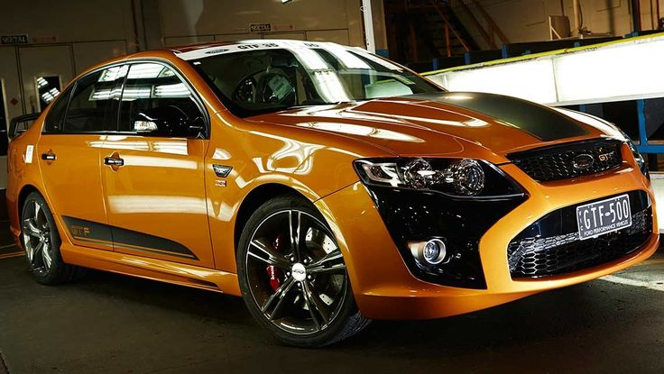 FPV GT F 351 build number 500 rolls off the line. Last ever