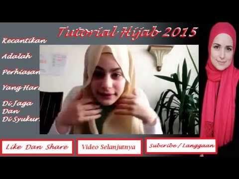 Tutorial Hijab 2015 ~ Beberapa Style Hijab Terbaru Dan Termudah Dibulan ...