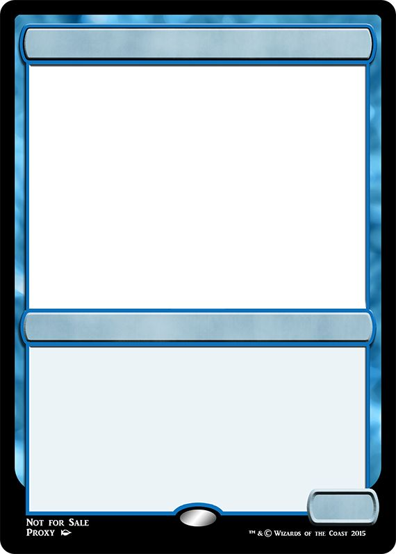 mtg m15 blue creature frame
